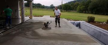 Schelles & Zonen - Nijlen - Polieren van Beton